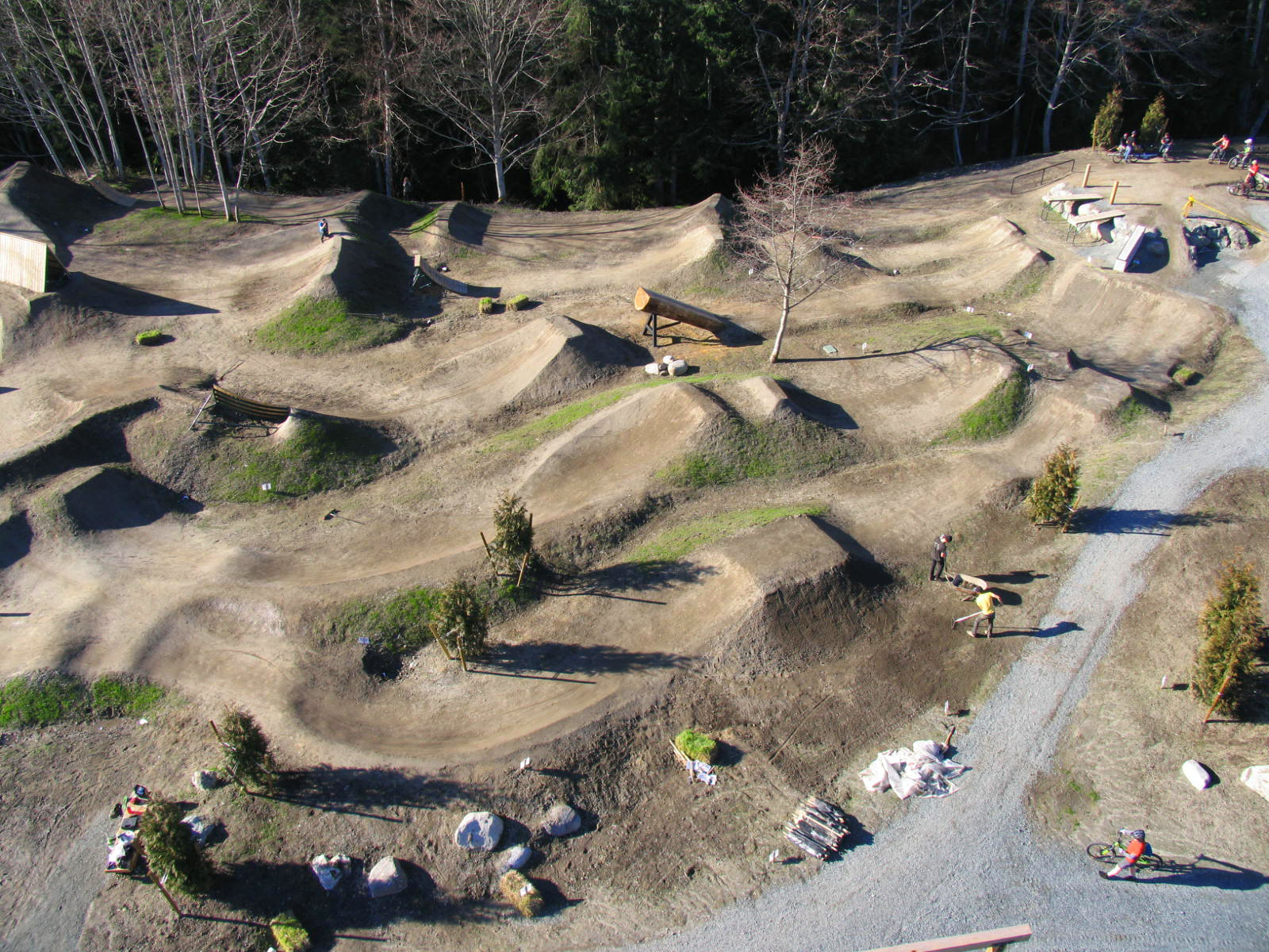 Powell River Bike Park Alpine Bike Parks